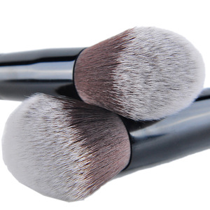 Makeup Brushes, Flat Foundation Blush Eyeliner Eyeshadow Brushes with Holder+Makeup Sponge & Brush Cleaner, Professional Makeup