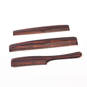 New design hand made pocket man beard plastic hair comb