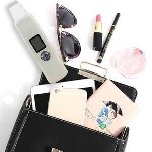 portable Facial Ultrasonic Scrubber digital skin rejuvenation skin care trending products 2018