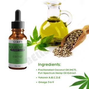 Private Label Essential Herbal Massage Pain Relief Oil