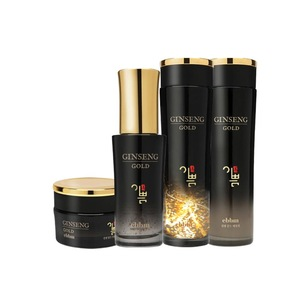 The first Korean cosmetics with the raw ginseng and gold powder