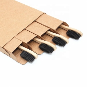 Travel Wholesale Cheap Eco Friendly Bamboo Wooden Toothbrush