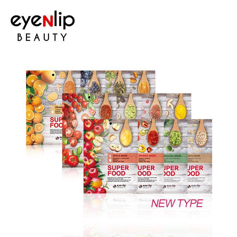 [EYENLIP] Super Food Mask 23ml * 10pcs 12 Type - Korean Skin Care Cosmetics