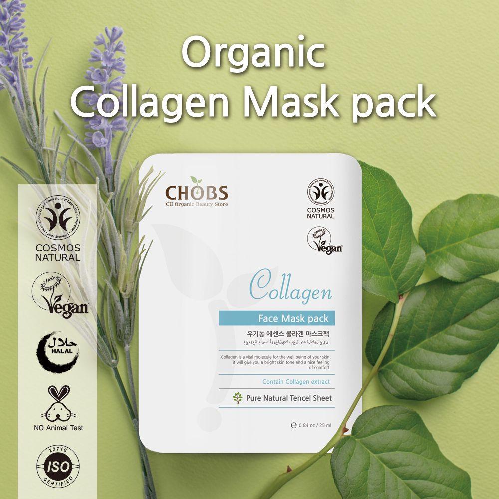 (CHOBS) 有機天絲面膜 - 膠原蛋白 Organic Tencel Mask - Collagen 25ml