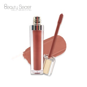 2019 Colors Private Label Waterproof Nude Matte Lipgloss Make Your Own Lip Gloss