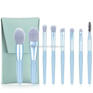 8pcs beauty tools wholesale make up kit facial cosmetic  brush make up brush set