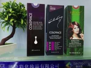 Colorace easy color wax treatment do hair dyeing and treatment no need peroxid no irritation strengthen hair shiny