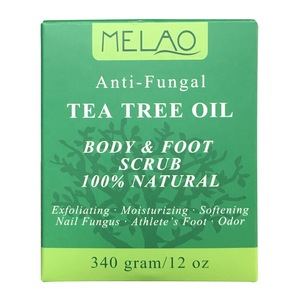 Facial and body scrub with Tea Tree Essential Oil to Exfoliating and moisturizing