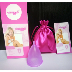 medical grade silicone feminine hygiene menstrual cups ready stock for sale