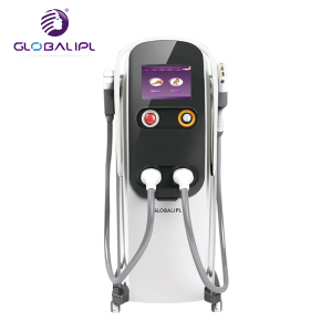 Multifunction Two Handles Permanent And Painless 808 Diode Laser Hair  Removal Laser Beauty Equipment
