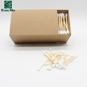 300pcs double head bamboo stick  cotton buds daily use swab