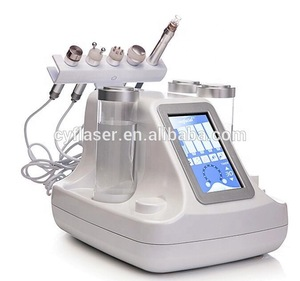6 in 1 Multifunction Facial skin care Beauty Machine/Super Crystal aqua dermabrasion hydro Water Oxygen Jet Peel Machine with CE