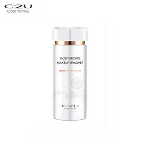C2U no stimulation 100ML moisturizing eye lip oil free makeup remover oem