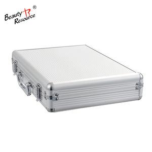Classic fashion cosmetics makeup kit full set + professional portable aluminum cosmetic case