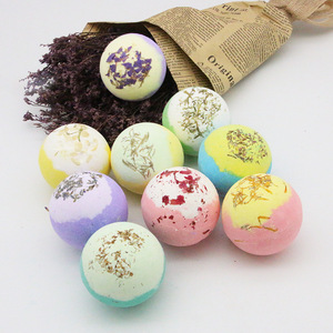 Foam Moisturizing Exfoliation Salt Bath Fazzies Ball for Bubble & Spa Bath
