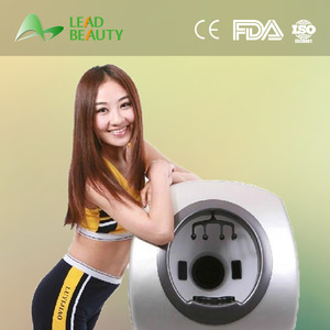 Health care beauty equipment skin and hair analyzer skin analyzer fda