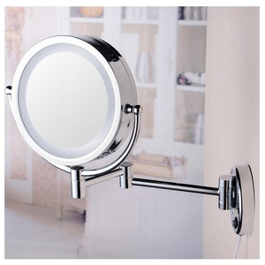 Koen wall mounted rotatable led makeup mirror with lights