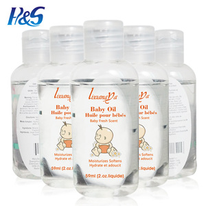MSDS Private Label Moisturizing Smoothing Massage Baby Oil in Bulk