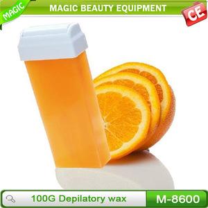 Natural depilatory wax strip