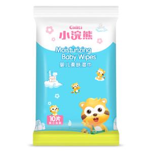 OEM ODM 10 pcs travel pack pocket  baby wet wipes pocket tissue