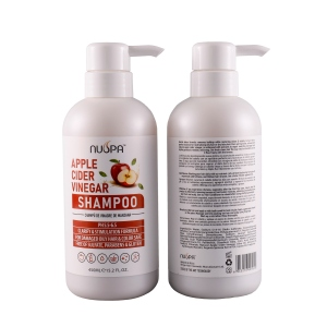 Professional Natural Apple cider Deep Hydrating Hair Shampoo and Conditioner