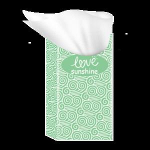 Soft Face Paper color facial tissue