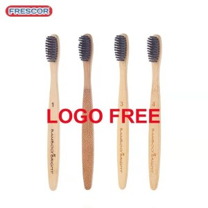 Travel home hotel use Wholesale Private Label Eco Friendly Bamboo Toothbrush manufacturer