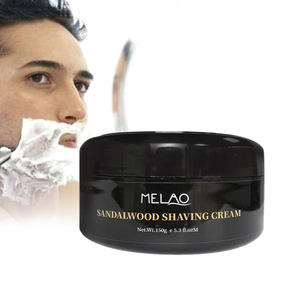 Wholesale High Quality Factory Price 100% Pure  Natural Moisturizing and Smoothing Mens Shaving Cream Brand For All Skin Types