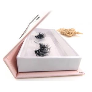 Worldbeauty wholesale private label eyelashes clear band Korean silk