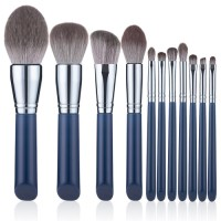 Private Label New Style Luxury Cosmetic Brush Professional Face Powder Foundation Eye Makeup Brush