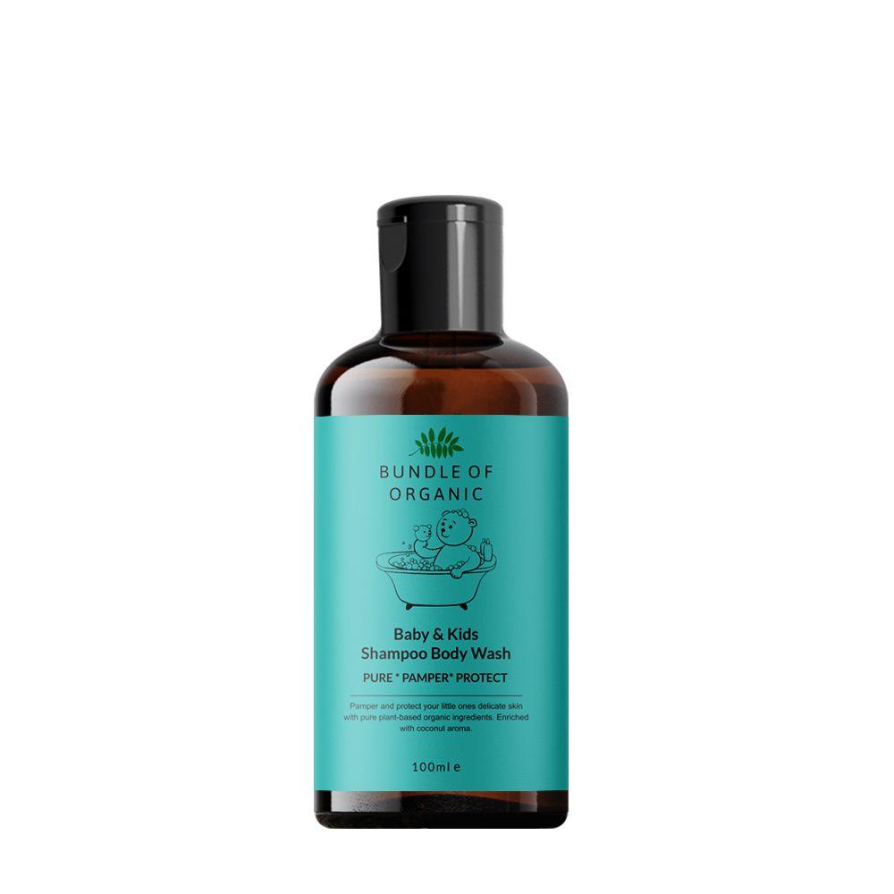 Coconut Shampoo Body Wash 100 ml
