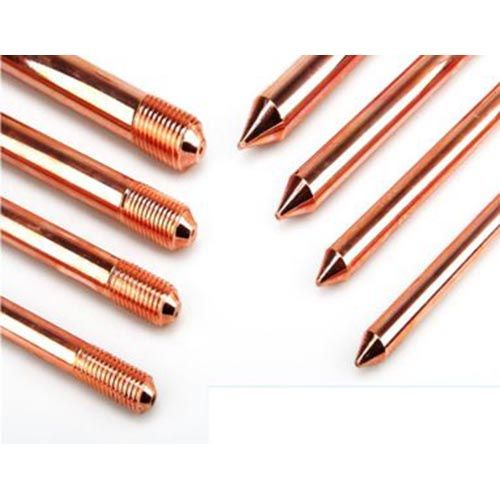Copper plated ground rod