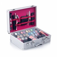 Women Professional Cosmetic Set Private Label Combo Ladies Makeup Full Set With Cosmetic Case