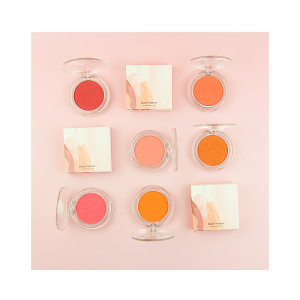 2021 New Arrival Private Label Highlighter Shimmy Cheek Blush Palette Professional Cosmetics