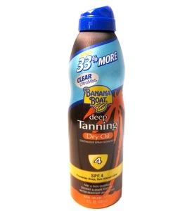 Banana Boat Tanning Spray 8oz