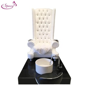 Cheap nail salon massage pedicure chair equipment /spa chair pedicure with ceramic bowl SY-FP001