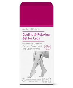 Cooling And Relaxing Leg Gel For Women During Pregnancy - 125 ml. Mother Skin Care Perfume Free Dermatologically Tested