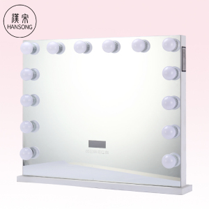 Hollywood Makeup Mirror LED Light Bulbs Lighted Christmas Gift Vanity Beauty Mirror with Speaker