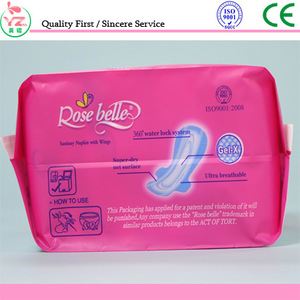 hot sale panty liner with napkins for female made in china