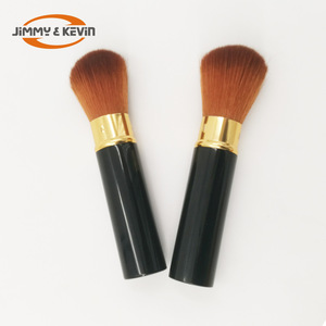 JIMMY&KEVIN  Retractable Makeup Brush  Metal Lampstand  Blush Brushes For Make UP
