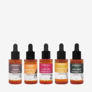 K-Beauty Skincare Calendula calming essence oil Face Body Oil Less Skin Stress OEM 30ml made in Korea