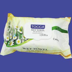 moisturizer wet towel