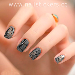New Arrival for 2018 Japan Nail Art Fashion Nail Foil Sticker