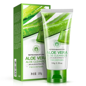 New Organic Bady Face Use And Female Gender Aloe Vera Gel Facial Cleanser