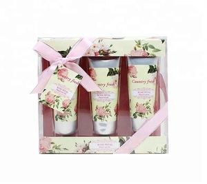 Popular new fashion rose scent cream hand lotion