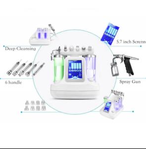 Portable Aqua Crystal Skin Care Diamond Water Dermabrasion Water Oxygen Facial face lift rf machine