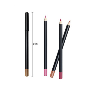 Private Label Long Lasting Eyeliner Shimmer Cosmetic Eyebrow Matte Lip Liner Makeup Pencil