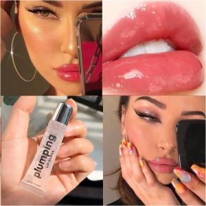 Private Label Waterproof moisturizing Instant Sexy Lipgloss glitter Plumper vegan Lip Gloss