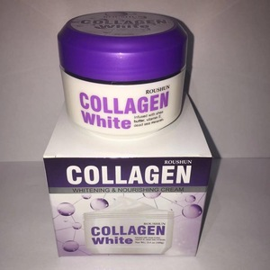 Roushun Collagen White Face Cream Deep Moisturizing Regenerate Whitening Smooth Facial Cream