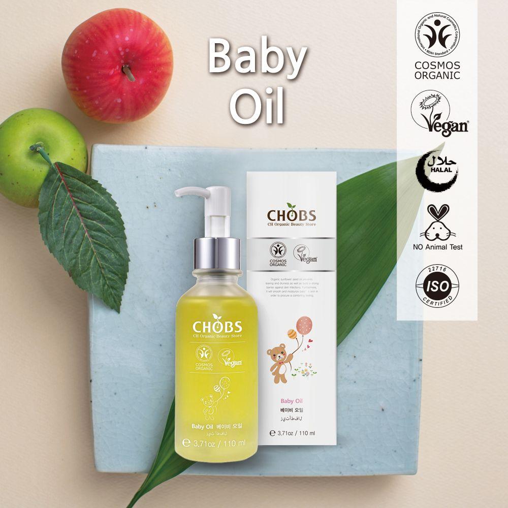 (CHOBS) 有机婴儿润肤油 Organic Baby Oil 110ml